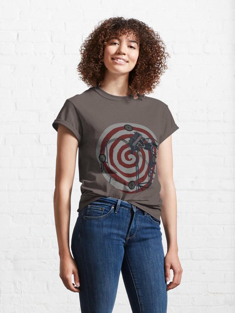 Alternate view of Sawblade - The Ride Art Design Classic T-Shirt