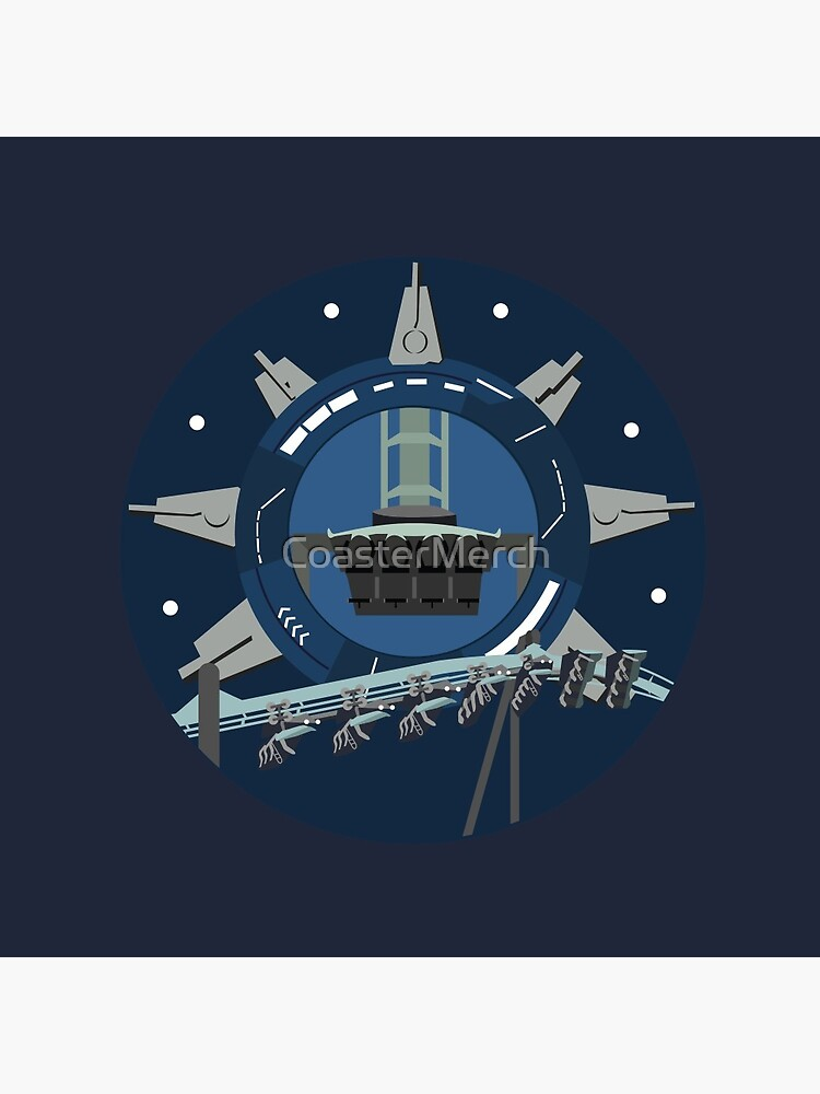 Galactic Space Rollercoaster Design by CoasterMerch