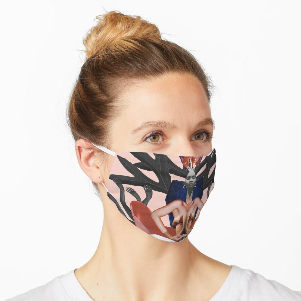 Run The World (Girls) - Freedom, independence, woman, feminism Mask