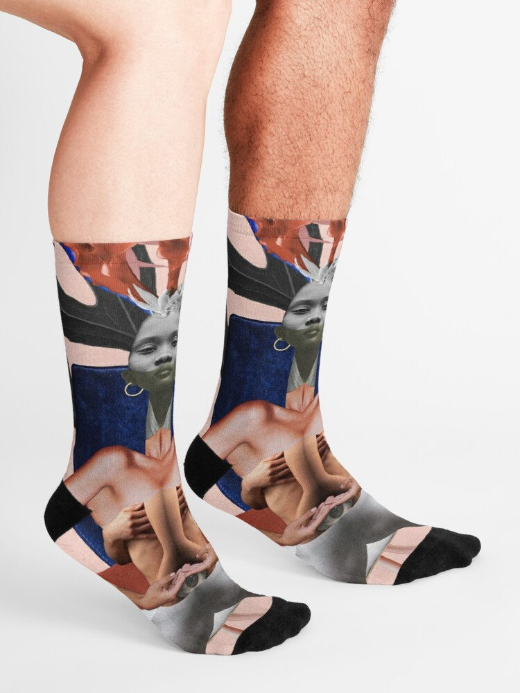 Alternate view of Run The World (Girls) - Freedom, independence, woman, feminism Socks