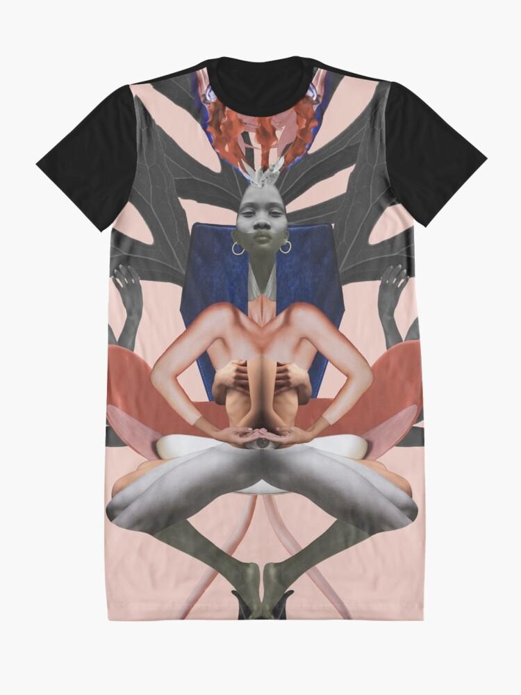 Alternate view of Run The World (Girls) - Freedom, independence, woman, feminism Graphic T-Shirt Dress