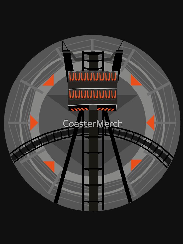 No Looking Below - B&M Dive Coaster Origin Design by CoasterMerch