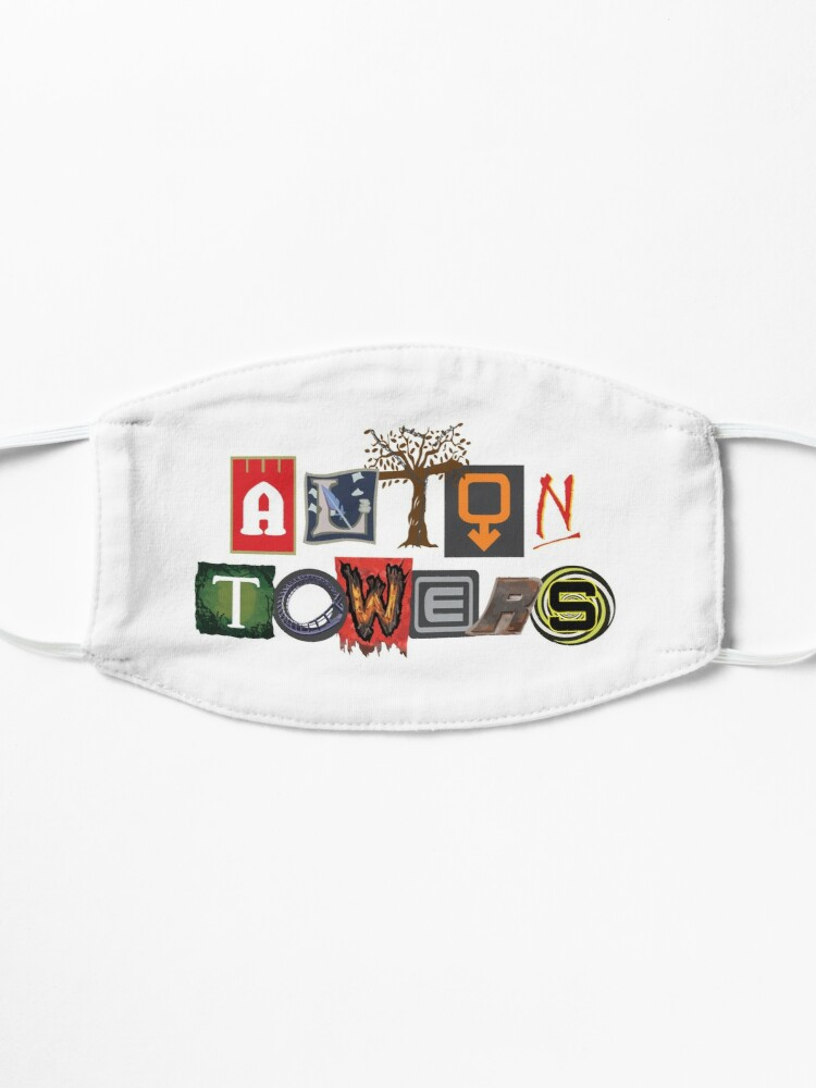Alternate view of Alton Towers Collage Design Mask