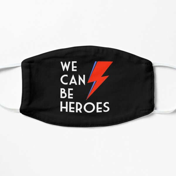 We can be heroes Flat Mask