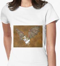 Beware the vampire hamster Women's Fitted T-Shirt