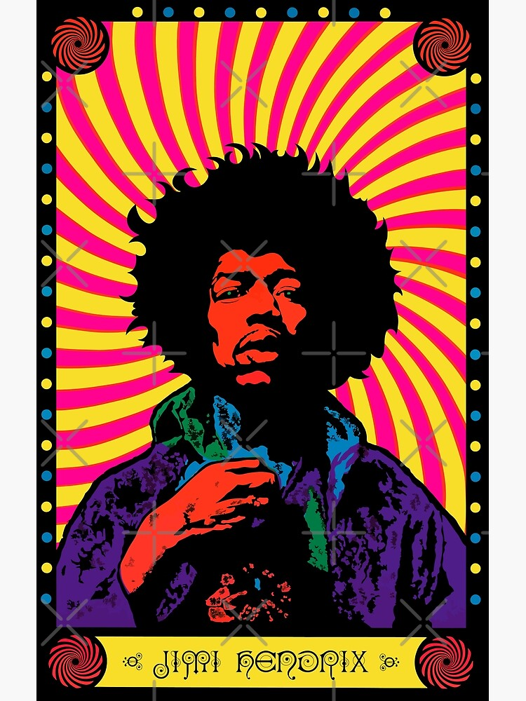 Psychedelic Jimi (HD) by music-box