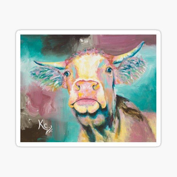 Moo Cow Sticker