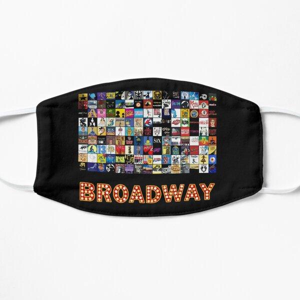 Broadway Musical Theatre Logos - Hand Drawn Flat Mask