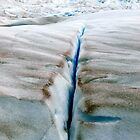 Crevasse , Glaciar Perito Moreno      Patagonia Argentina  by geophotographic