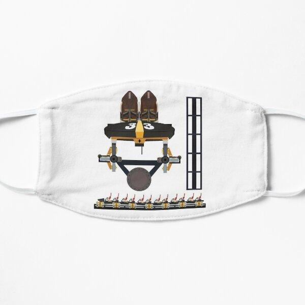 Steel Curtain Coaster Train Design - Kennywood Flat Mask