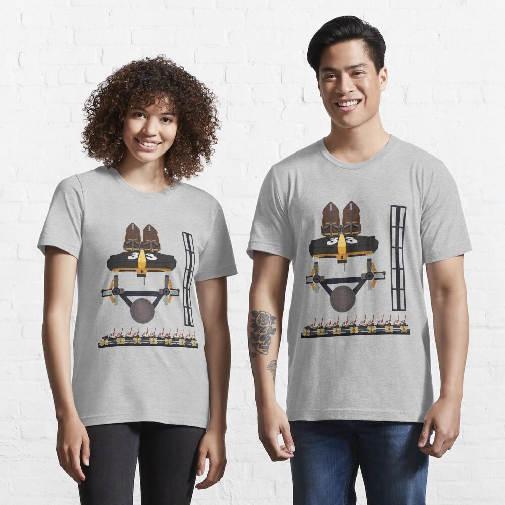 Steel Curtain Coaster Train Design - Kennywood Essential T-Shirt