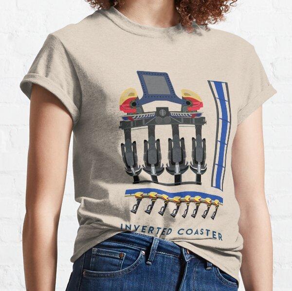 Montu - B&M Invert Coaster Design - Busch Gardens Africa Classic T-Shirt