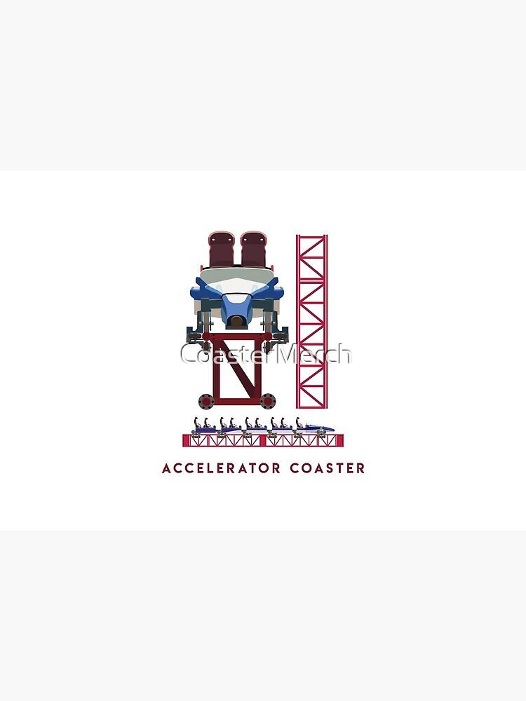 Accelerator Coaster - Intamin Inspired Rocket Coaster Design by CoasterMerch