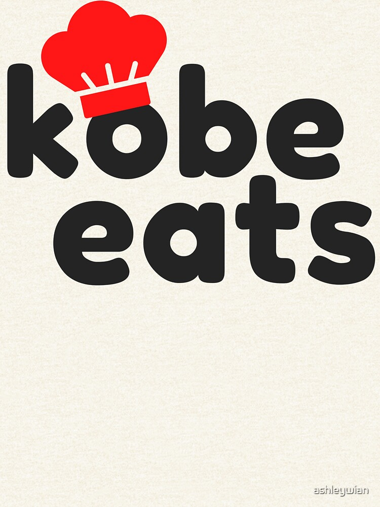 Kobe Eats - Original  by ashleywian
