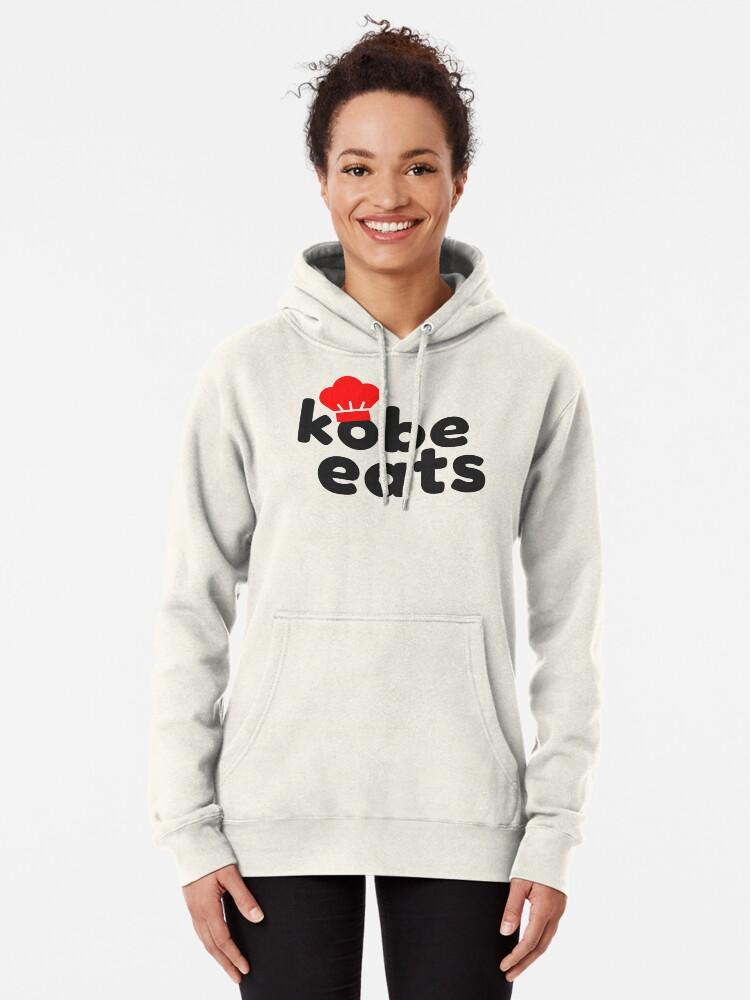Alternate view of Kobe Eats - Original  Pullover Hoodie