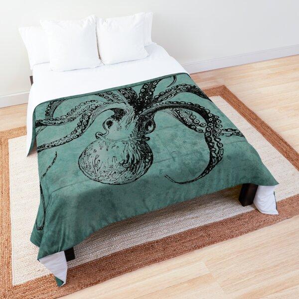 Vintage Octopus  Comforter