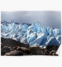 Viedma Glacier Poster