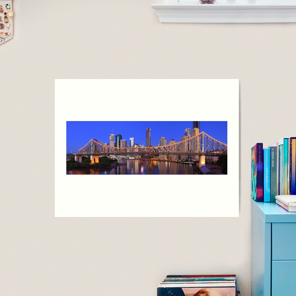 Story Bridge, Brisbane, Queensland, Australia Art Print