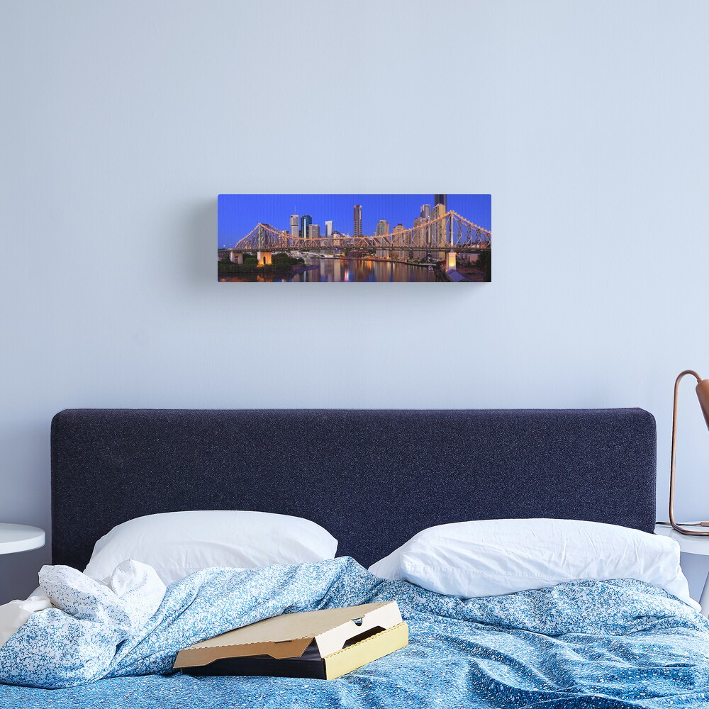 Story Bridge, Brisbane, Queensland, Australia Canvas Print