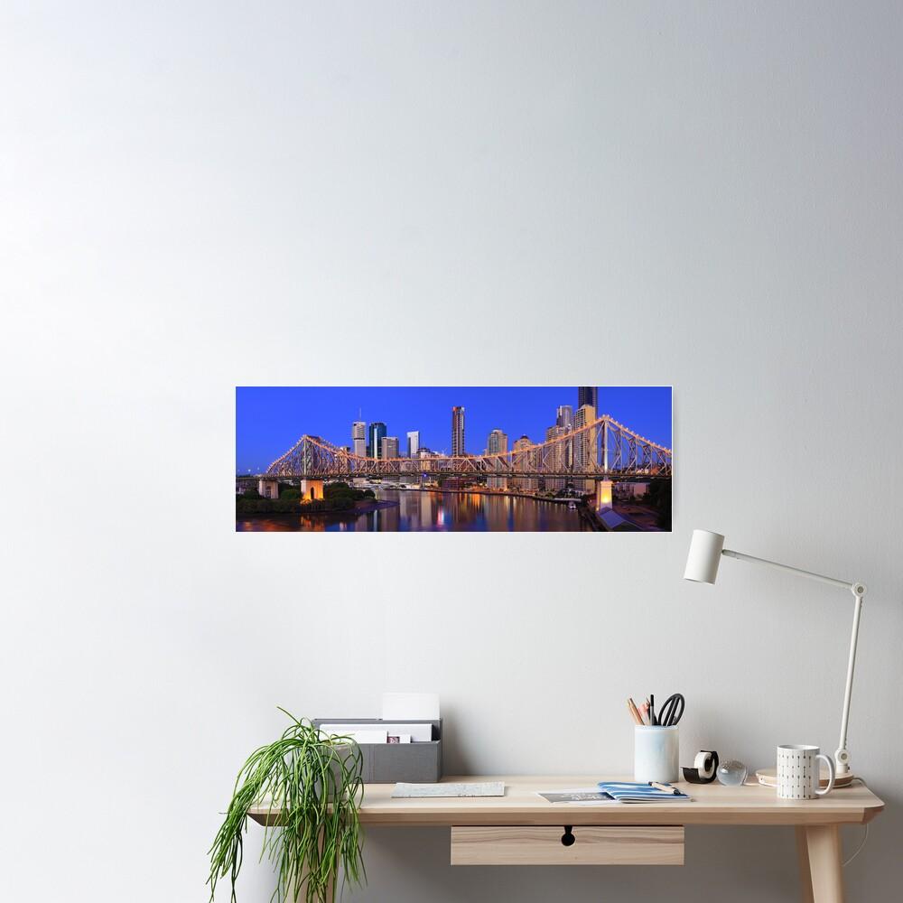 Story Bridge, Brisbane, Queensland, Australia Poster