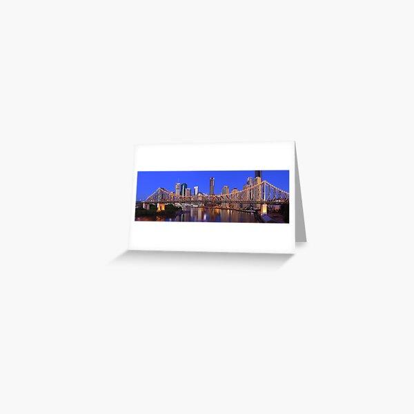 Story Bridge, Brisbane, Queensland, Australia Greeting Card