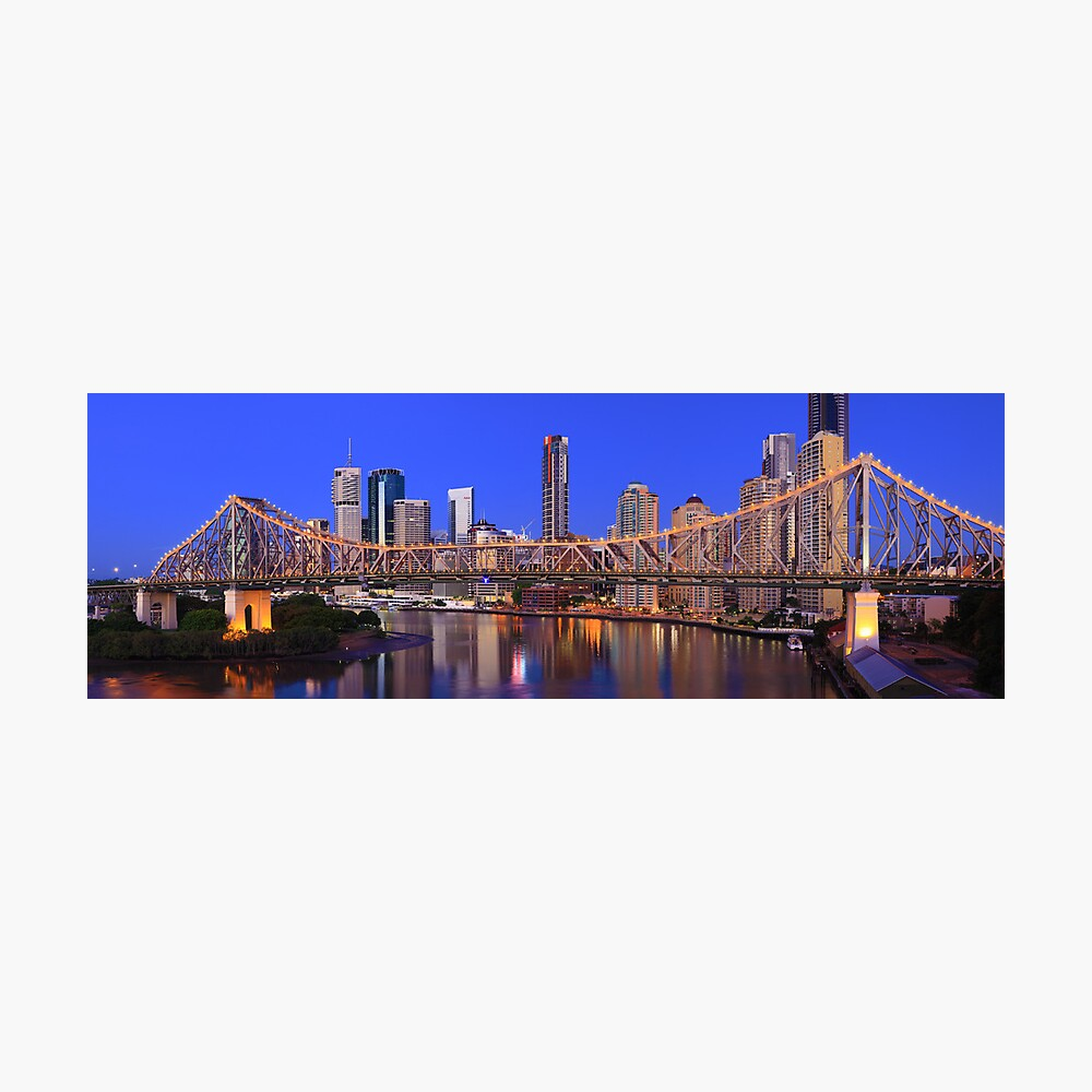Story Bridge, Brisbane, Queensland, Australia Photographic Print
