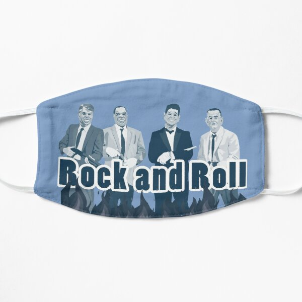 point break ex presidents rock and roll Flat Mask