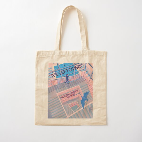 The Leftovers 'International Assassin' Cotton Tote Bag