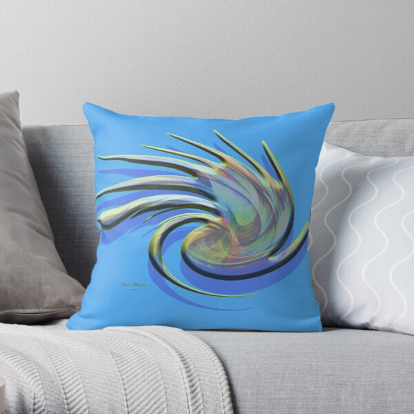 The whirl, w1.5c Throw Pillow