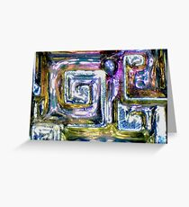 Bismuth As Usual Greeting Card