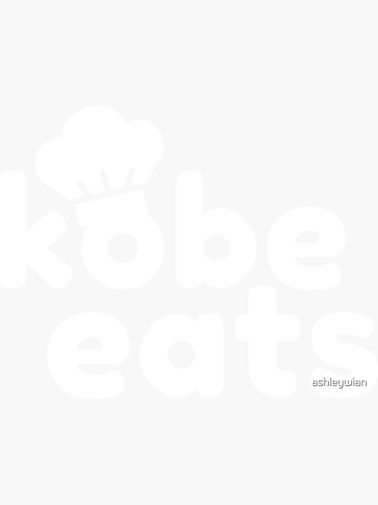 Kobe Eats - White  by ashleywian
