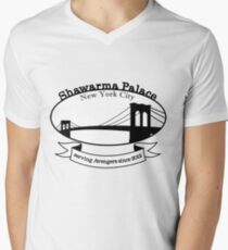 Shawarma Palace - Voted #1 in New York City Mens V-Neck T-Shirt