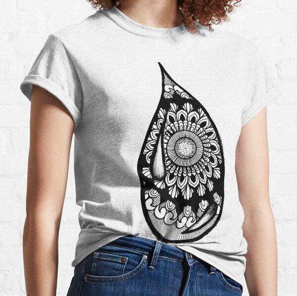 Drop Mandala Classic T-Shirt