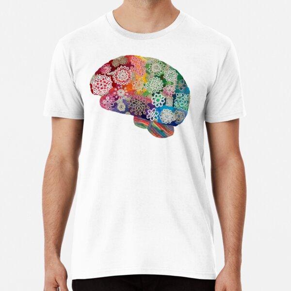 Opalicious - Rainbow Brain  Premium T-Shirt