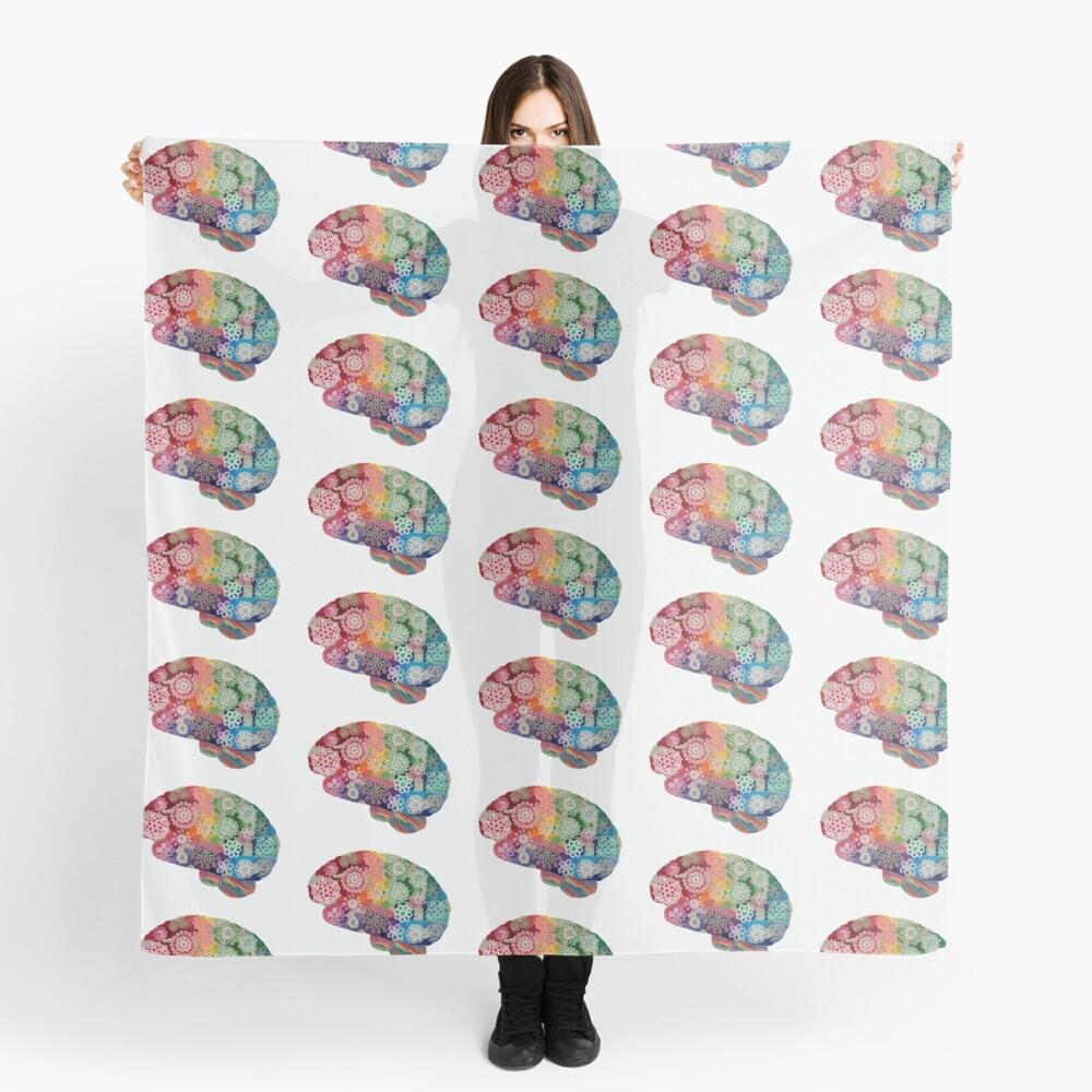 Opalicious - Rainbow Brain  Scarf