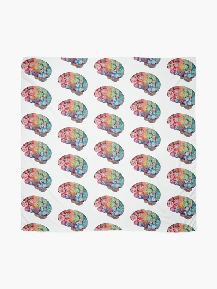 Alternate view of Opalicious - Rainbow Brain  Scarf