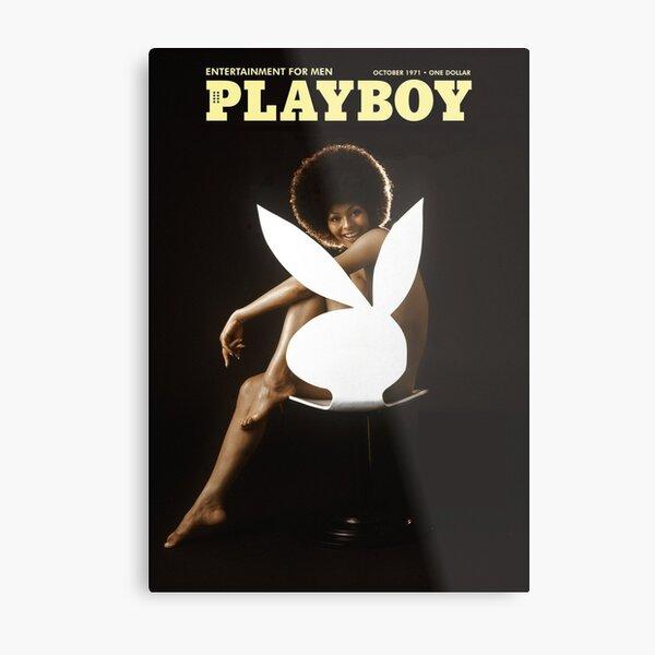 Playboy - October 1971 Metal Print