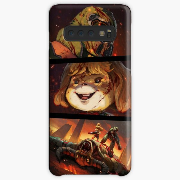 DOOM CROSSING BADASS POINT OF VIEW Samsung Galaxy Snap Case