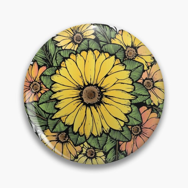 SUNFLOWERS Pin