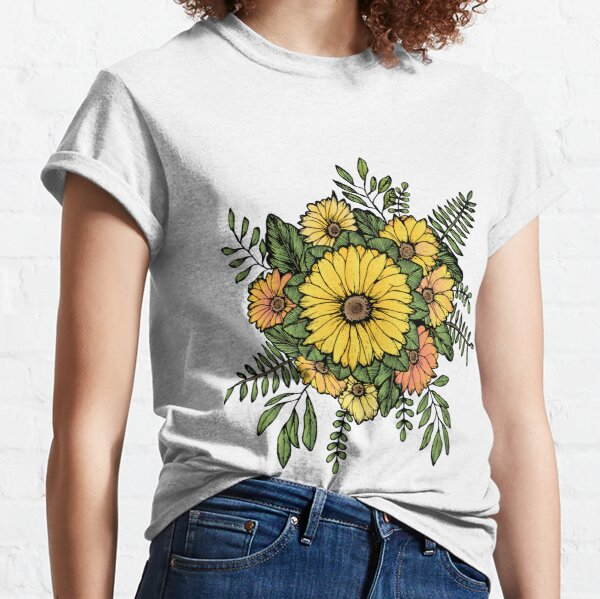 SUNFLOWERS Classic T-Shirt