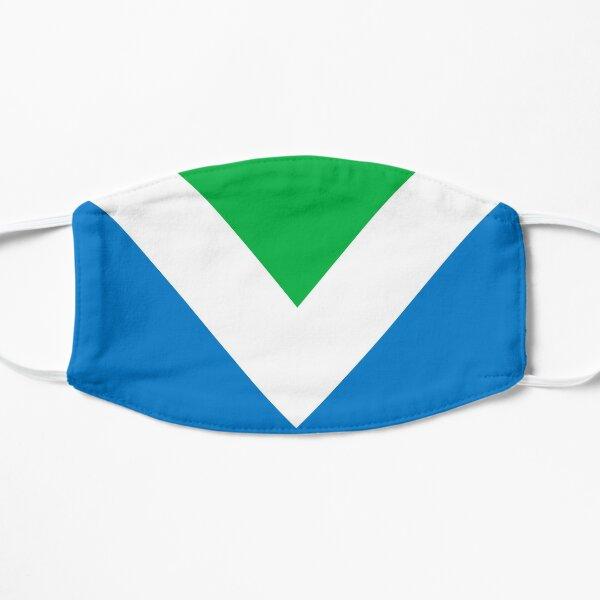 The Official International Vegan Flag Flat Mask