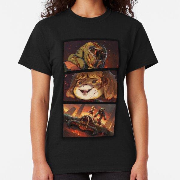 DOOM CROSSING BADASS POINT OF VIEW Classic T-Shirt