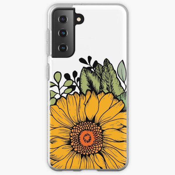 Sunflower Samsung Galaxy Soft Case