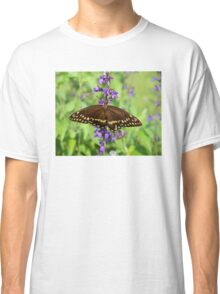 Miss Butterfly Brown Classic T-Shirt