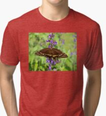 Miss Butterfly Brown Tri-blend T-Shirt