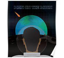 Kid Cudi Man on the Moon Poster