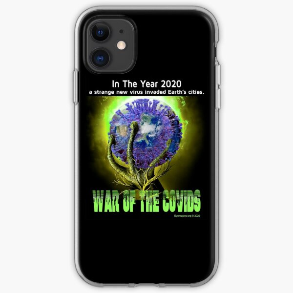War of the Covids iPhone Soft Case
