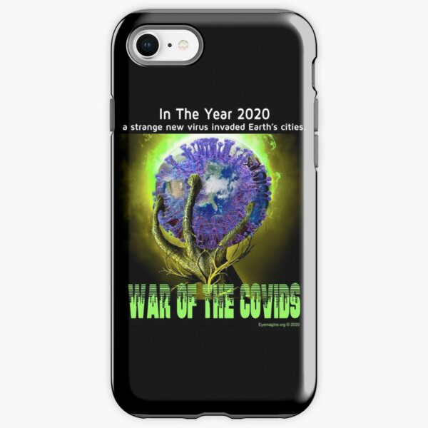 War of the Covids iPhone Tough Case