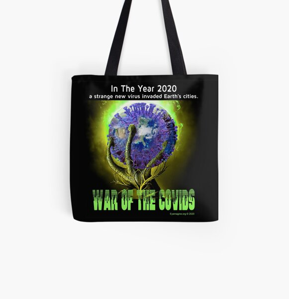 War of the Covids All Over Print Tote Bag