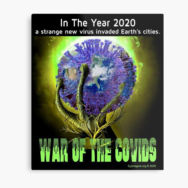 War of the Covids Metal Print